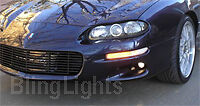 1999-2002 Chevy Camaro Fog Lamps Z28 Z-28 SS V6 2000 2001 2002 Fog Lights Kit