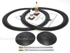 "Complete Infinity 15"" SM-152 Speaker Foam Repair Kit - w/ Logo Caps- 2INF15-comp"