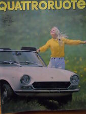 Quattroruote 140 1967 - Test su strada MASERATI 3.7 Iniezione -     [Q31]