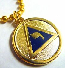 YOD Lodge of Perfection Scottish Rite 14th Degree Masonic Pendant Necklace Chain