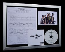 AVENGED SEVENFOLD Dear God LTD CD MUSIC FRAMED DISPLAY+EXPRESS GLOBAL SHIPPING