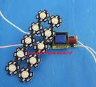 10X 3W Cold White 6000-6500K High Power LED chip + 110/220V 6-10x3w driver IP20