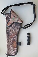 """Scoped Camo Bandolier Shoulder Holster for THOMPSON CONTENDER 14"""" - 16"""" Ambidex"""