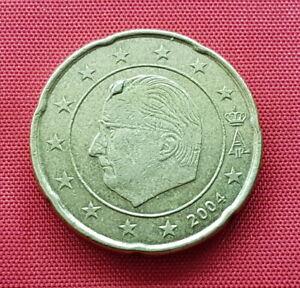Belgium European Error Coin , 20 Cent 2004 , Bump , KM# 228
