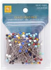 EZ Glasshead Pins. Sewing Quilting Pins 150 pcs