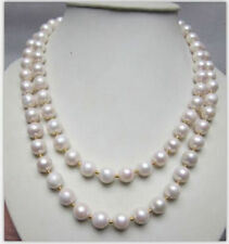 Single Strand 7-8mm South Sea White Pearl Necklace 36inch New