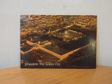 JERUSALEM,THE GOLDEN CITY-VINTAGE UNUSED/UNPOSTED POSTCARD