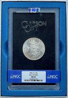 1883-CC Morgan Dollar GSA | NGC MS64 | Beautiful Luster!!