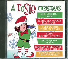ROSIE O'DONNELL - A ROSIE CHRISTMAS (1999 CD) BILLY JOEL,CELINE DION,ELTON JOHN