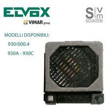 POSTO ESTERNO ELVOX SERIE 930 PER IMPIANTI ELETTRONICI MODELLO A E C E 930/000.4