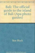 Bali: The Official Guide To The Island Of Bali, Black, Star, Very Good, Paperbac