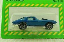 Dinky Toys No 116 63 Corvette - Meccano Ltd - Carded