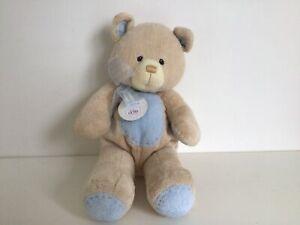 Grun Blue Nursery Bear from the Bear Tales Collection 58651. Approx. 38cm #622