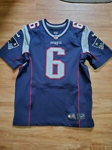 New England Patriots Ryan Allen Player Issued Event Worn Nike Elite Jersey Sz 44