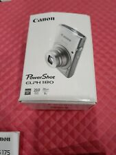 Canon PowerShot ELPH 180 Digital Camera DIGIC 4 20MP 1093C001 Silver -SB1851 NEW
