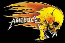 Metallica : Flaming Skull - Maxi Poster 91.5cm x 61cm new and sealed