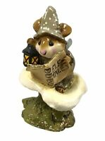 "Wee Forest Folk WFF ""Elf Tales"" M-163 Taupe 1989 RETIRED"