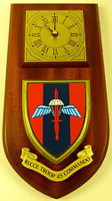 45 COMMANDO RECCE TROOP ROYAL MARINES CLASSIC HAND MADE TO ORDER  WALL CLOCK
