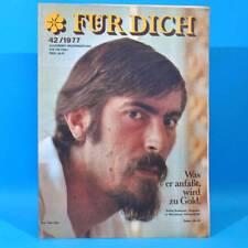 DDR FÜR DICH 42 1977 Lichtenhain WM Rhythmische Sportgymnastik Schloß Warschau