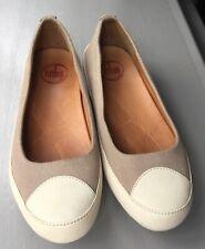 Filflop beige biomimetix flat sneaker ladies size uk5 EU38 vgc
