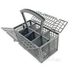 Cutlery Basket for AEG Dishwasher Plastic Separator Cage Tray Lid & Handle