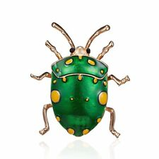 Badge Kids Women Men Jewelry Party New New Vivid Enamel Beetle Insect Brooch Pin