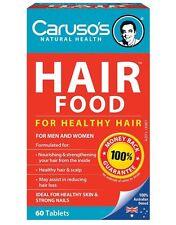 Caruso's Natural Health Hair Food  60 tablets OzHealthExperts