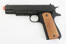 1911 Airsoft Pistol & Magazine with Metal Barrel -- Gun/Handgun/Prop/Side-Arm