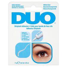 Blanco/Claro Duo Pestañas Pegamento Adhesivo Impermeable 7g .25 OZ (approx. 7.09 g)