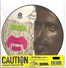 "FRANK ZAPPA ""Joe's Garage / Central Scrutinizer"" numbered 7"" Picture VINYL RSD"