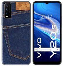 Cover Gel TPU Per Vivo Y20s/Y11s Disegno Jeans Disegni