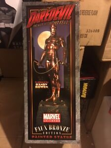 Daredevil Bronze STATUE BY BOWEN # 139 of 300 NEW NEVER DISPLAYED! MINT!