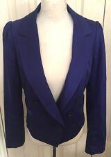Reiss Women Cotton Long Sleeve Jacket Size M