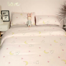 New Pink Blue Anime Sailor Moon Bedding Home Decor Cotton Duvet Cover Sheet Sets