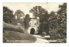 Postcard Reigate Castle Gateway Cobham Leatherhead Dorking