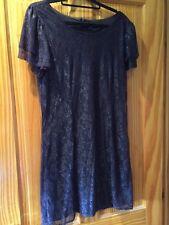 Vero Moda Plum Lace Dress Size M Excellent Condition