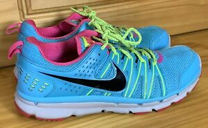 Nike Womens Flex Trail 2 Running Shoes Blue 616681-400 Lace Up Low Top 9.5 M