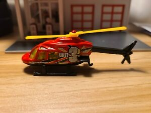 Helicopter 1/64 diecast loose Hot Wheels