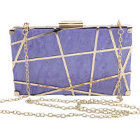 Metal Frame Acrylic Bag Women Handbags Shoulder Bag Clutch Evening Bag for party