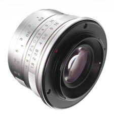 25mm F/1.8 Manual Focus Fixed Lens APS-C for Olympus M4/3 Mount G9 GH5  Hot