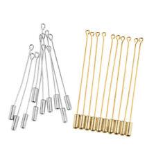 20Pcs Long Needle Plug Lapel Stick Hat Scarf Brooch Boutonniere Pin Crafting