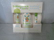 Babyganics Bundles Gift Set -Soothing Solutions Vapor Bath - Cold Relief - Balm