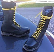 Vintage Dr Martens black leather boots UK 10 Made in England