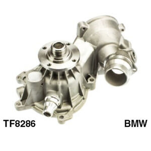 Tru-Flow Water Pump (Saleri Italy) TF8286 fits BMW X Series X5 4.4i (E53) 235...