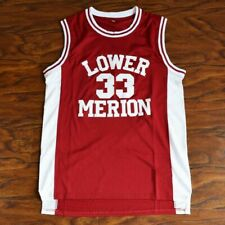 Kobe Bryant #33 Lower Merion High School Basketball RED  Jersey Stitched