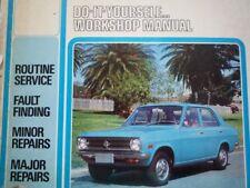 Datsun Sunny 1968 1973 B10 B110 A10 A12 Owners Workshop Service repair Manual