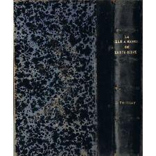 LA SALLE A MANGER DE SAINTE BEUVE de Jules TROUBAT Cercle du Dauphiné 1910