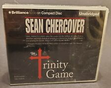 The Trinity Game by Sean Chercover Factory Sealed New Audiobook 2012 9 CDs