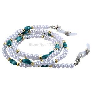 High Quality Beaded Eyeglass Sunglass Neck Chain Retainer Holder Eyewear Strap
