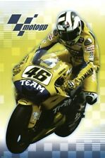 MOTOGP POSTER Valentino Rossi in Action RARE NEW 24X36 - PRINT IMAGE PHOTO -PW0